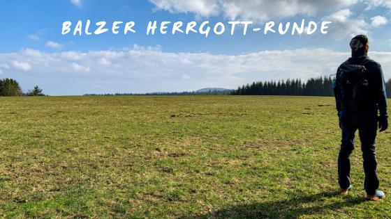 Balzer Herrgott-Runde um Gütenbach
